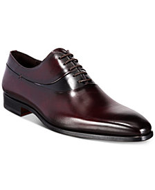 Massimo Emporio Men's Two-Tone Leather Oxfords, Created for Macy's