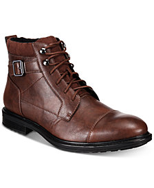 Alfani Men's Chris Utility Boot Created for Macy's