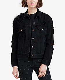 Levi's® Cotton Ex-Boyfriend Trucker Jacket