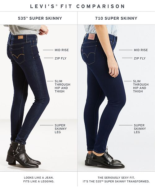 cd714c64540 Levi s 535™ Super Skinny Jeans   Reviews - Jeans - Women - Macy s