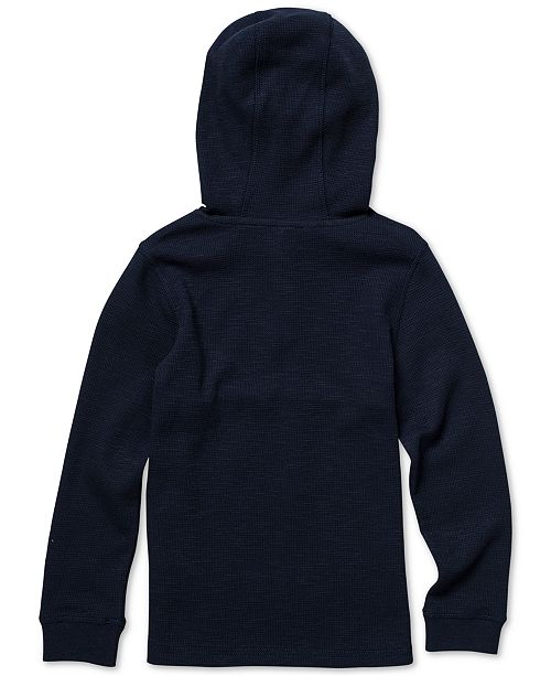 b30b24f2f48a Volcom Little Boys Murphy Thermal Colorblocked Hoodie - Sweaters - Kids -  Macy s
