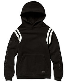 Volcom Big Boys Striped Fleece Thrifter Hoodie