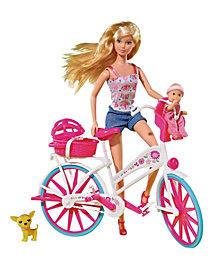 Simba Toys Steffi Love Bike Tour with Bike and Doll