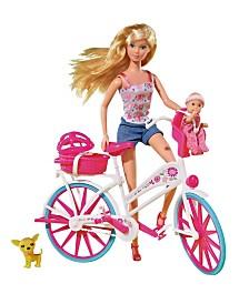 Simba Toys - Steffi Love Bike Tour With Bike And Doll