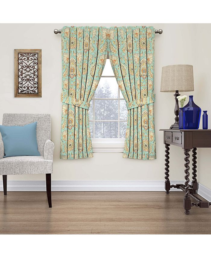 Waverly - Clifton Hall Floral Window Curtain