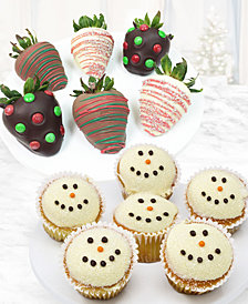 Chocolate Covered Company® 12-Pc. Strawberries & Cupcakes Gift