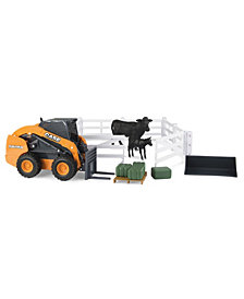 Big Farm M2 1-16 Big Farm Case Hobby Farm Set With Cattle