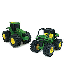 """John Deere - Monster Treads 6""""Lights And Sounds Gator And Tractor Combo"""