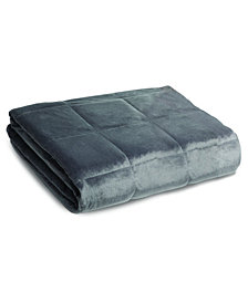 Sharper Image Calming Comfort 25lb Weighted Blanket