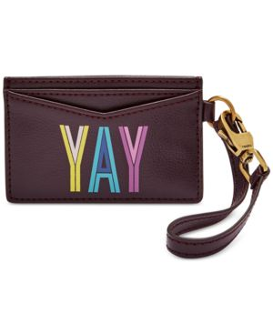 Image of Fossil Card Case Wristlet
