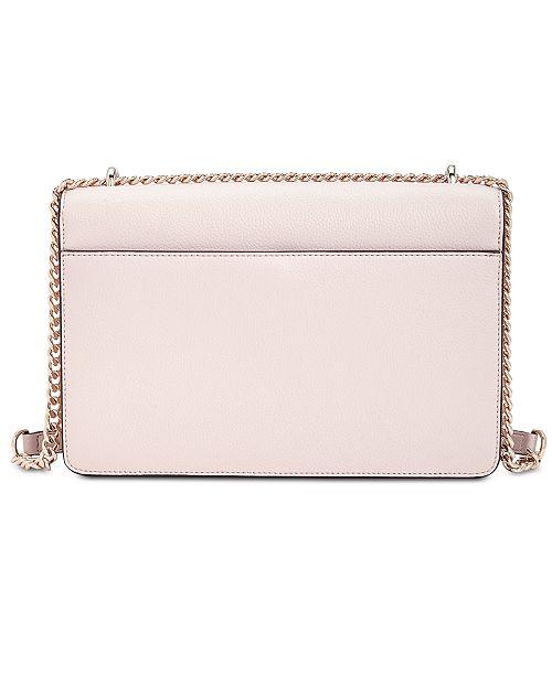 874e7df3535c DKNY Whitney Leather Studded Flap Shoulder Bag