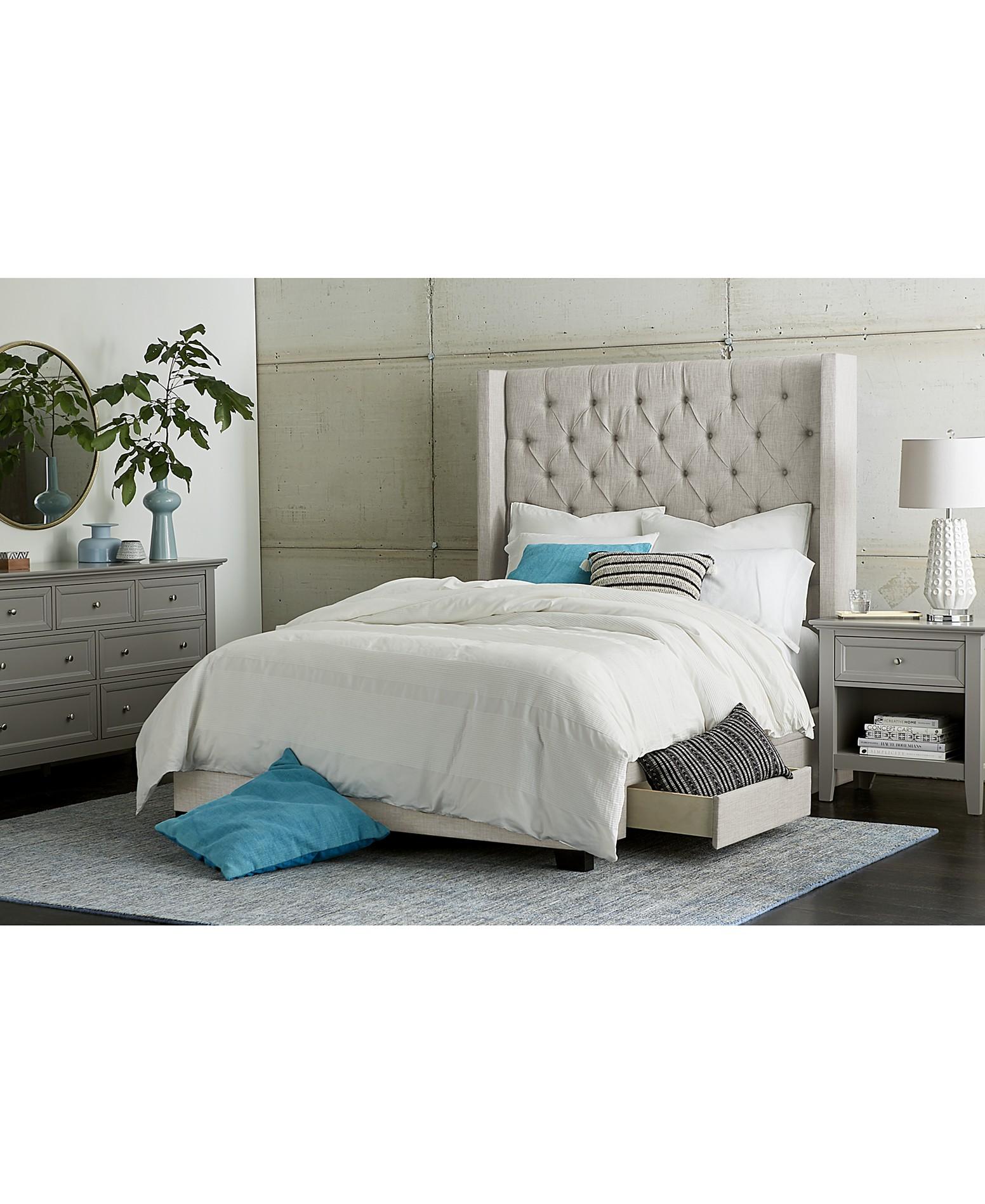 Furniture Monroe Storage Bedroom Furniture Collection ...