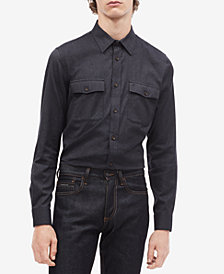 Calvin Klein Men's Marc Flannel Shirt