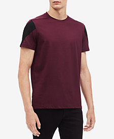 Calvin Klein Men's Pieced Contrast Triangle T-Shirt