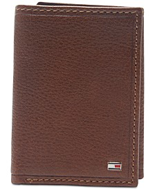 Men's Shelton Tri-Fold Leather Wallet
