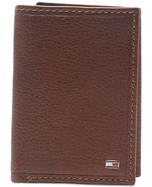 823a56f7b0f Tommy Hilfiger Men's Shelton Tri-Fold Leather Wallet & Reviews - All ...