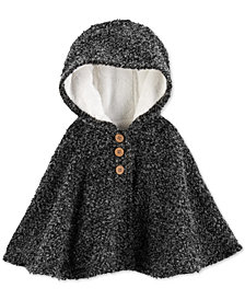 Carter's Baby Girls Hooded Poncho