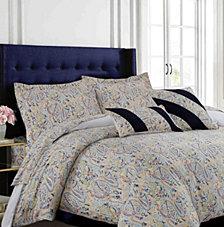 Fiji 300 Thread Count Cotton Oversized Queen Duvet Cover Set