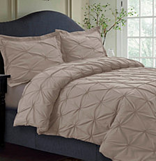 Sydney Microfiber Oversized Queen Duvet Cover Set