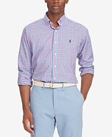 c1f3df2b5d5411 Polo Ralph Lauren Men s Classic Fit Stretch Poplin Shirt