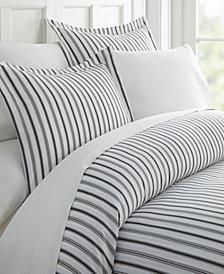 Home Collection Premium Ultra Soft Vertical Dreams Pattern 3 Piece Duvet Cover Set