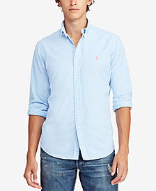 Polo Ralph Lauren Men's Slim Fit Oxford Cotton Shirt