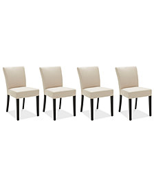 Tate Fabric Parsons Dining Chair, 4-Pc. Set (4 Side Chairs)