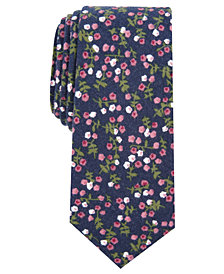 Bar III Men's Bellaire Slim Floral Tie, Created for Macy's
