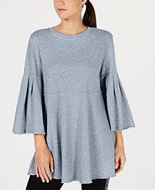 Calvin Klein Performance Relaxed Bell-Sleeve Tunic