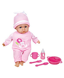 Lissi Doll - Talking Baby with Feeding Accessories, 13""