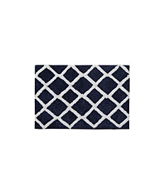 "Madison Park Bittman 21"" x 34"" Reversible High Pile Tufted Microfiber Bath Rug"