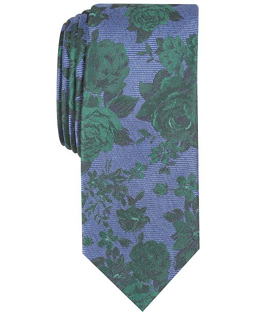 Bar III Men's Thalia Floral Skinny Tie, Created for Macy's