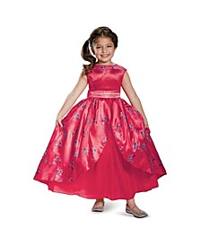 Disney Elena of Avalor Elena Ball Gown Deluxe Little and Big Girls Costume