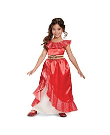Elena of Avalor Elena Deluxe Adventure Gown Toddler Little and Big Girls Costume