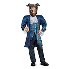Disney Beauty and The Beast Beast Deluxe Big Boys Costume