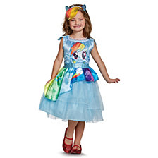 My Little Pony Rainbow Dash Classic Big Girls Costume