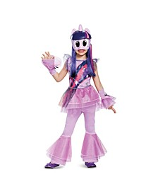 My Little Pony Twilight Sparkle Deluxe Toddler Little and Big Girls Costume