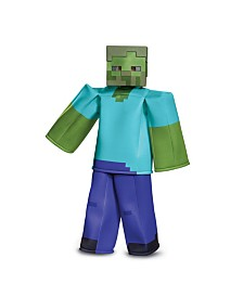 Minecraft Zombie Prestige Little and Big Boys Costume