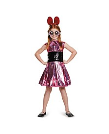 Powerpuff Girls Blossom Deluxe Little and Big Girls Costume