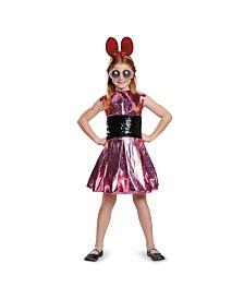 Powerpuff Little Girls Blossom Deluxe Little Girls Costume
