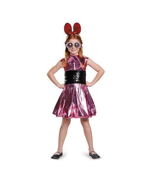 BuySeasons Powerpuff Little Girls Blossom Deluxe Little Girls Costume