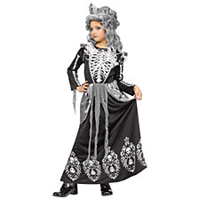 Skeleton Queen Big Girls Costume