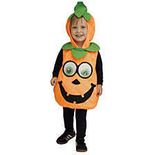 Pumpkin Googly Eyes Toddler Boys or Girls Costume