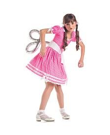 Wind Up Doll Big Girls Costume