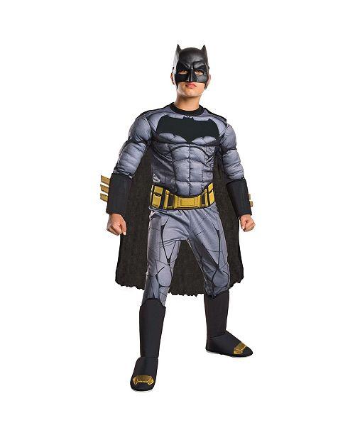 BuySeasons Batman V Superman Dawn of Justice Deluxe Batman Big Boys Costume