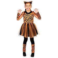 Cool Cat Tigeress Girl Little Little Girls Costume