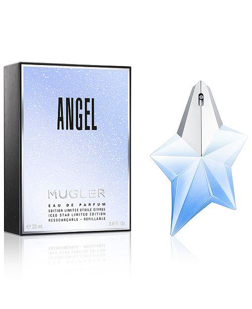 Mugler Angel Eau De Parfum Iced Star Holiday Collector 08 Oz