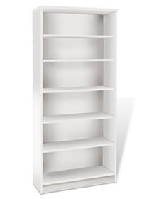 Delven Tall Bookcase, Quick Ship