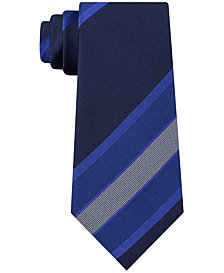 Kenneth Cole Reaction Men's Highlight Stripe Slim Tie
