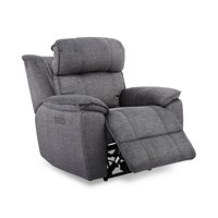 Deals on Fordbridge 39.5-inch Fabric Dual Power Recliner